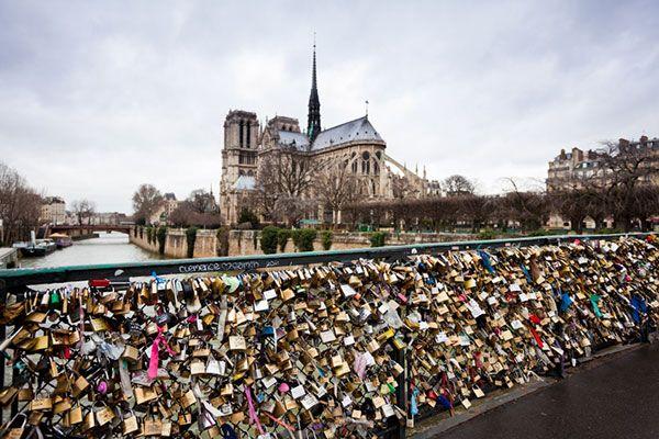 Lover's Bridge #paris #france #minimoons