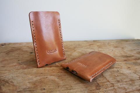 iPhone 5 Sleeve (Saddle Tan)