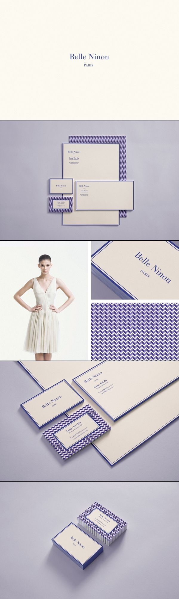 Belle Ninon | Château Bâtard | #stationary #corporate #design #corporatedesign #identity #branding #marketing < repinned by www.BlickeDeeler.de | Take a look at www.LogoGestaltung-Hamburg.de