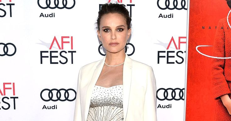 Pregnant Natalie Portman looked out of this world in an edgy dress on November 14 in L.A. for a Jackie screening. See her red carpet maternity style!