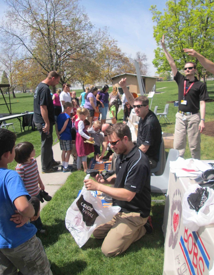 BOBS from SKECHERS joined Shoe Carnival, Fashion Delivers, Salt Lake CAP, Community Action ...