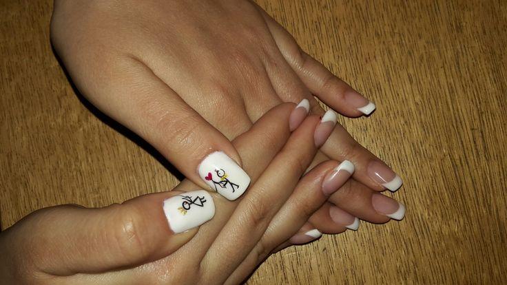 #νύχια γαλλικό