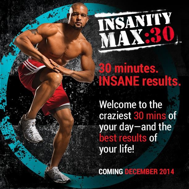 Are you ready to go Insane again? Insanity took about 45 minutes to an hour, Insanity MAX 30 will take 30 minutes IF you can make it through the workout. Win a FREE Copy here: http://www.onesteptoweightloss.com/insanity-max-30-review #Insanity2Max30