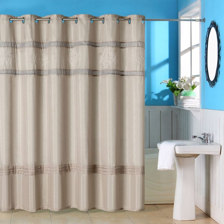 siglo best shower curtain for clawfoot tub. Lavish Home Radcliff Embroidered Grommet Style Shower Curtain  67 0008 43 best Corner Bathtub images on Pinterest bathtub
