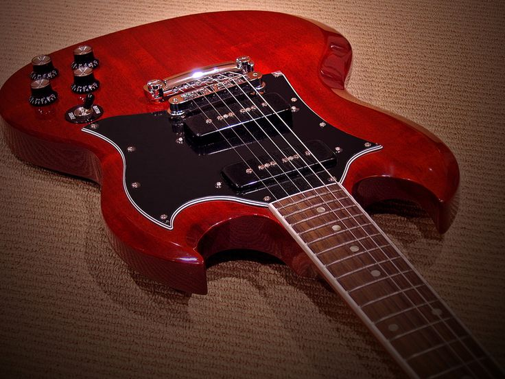 Gibson SG w/ P90's like Pete Townshend played circa 1969-1971