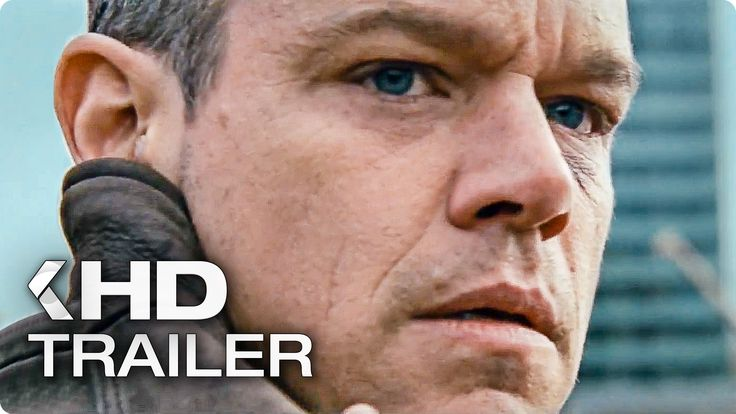 JASON BOURNE 5 Trailer (2016)