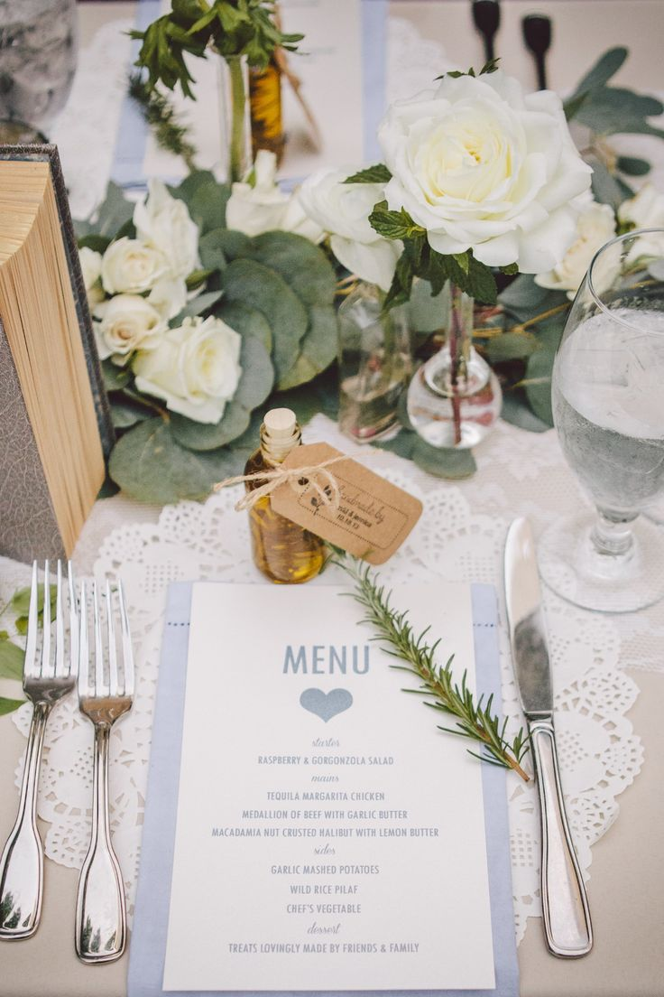 #place-settings Photography: Anna Delores Photography - www.annadelores.com Read More: http://www.stylemepretty.com/california-weddings/2014/05/28/sweet-romantic-wedding-in-orange-county/