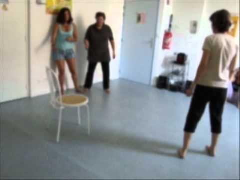 une séance de danse thérapie