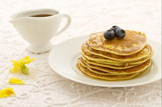 Pancakes allo sciroppo d'acero