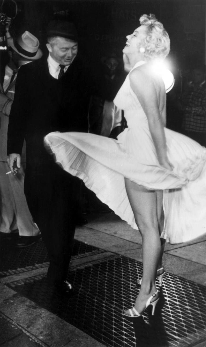 Marilyn Monroe & Billy Wilder - The Seven Year Itch, 1955