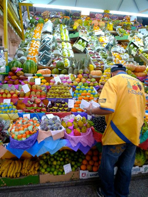 fruits, central market, Sao Paulo, Brazil