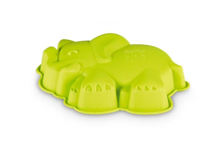 baby chef: stampo elefantino in silicone guardini