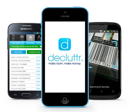 Decluttr buys any and all of your old CDs, DVDs, games, etc. Scan the barcodes with the (free) app and see how much they'll give you. They pay shipping; you can't lose.