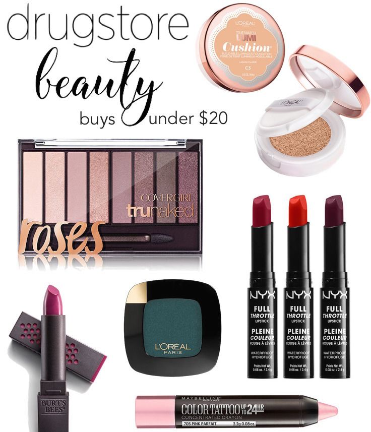 With the New Year comes a whole new bunch of fresh beauty products! And there's no better place to find quality beauty treasures than at the drugstore – who doesn't love a good deal? From a strobi…
