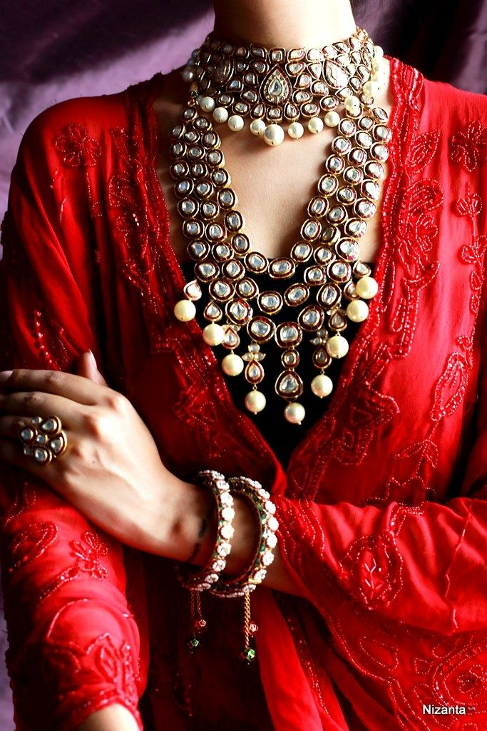 Bridal necklaces, layered necklaces