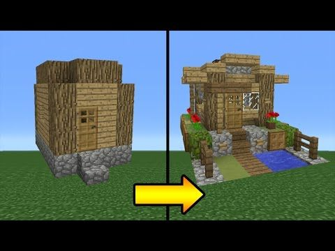 In this video i show you how to transform a Villager Village Blacksmith! if you want to see more stuff like this where i transform minecraft building then pl...
