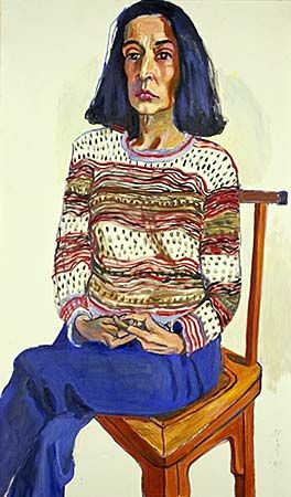 """""""Whether I'm painting or not, I have this overweening interest in humanity. Even if I'm not working, I'm still analyzing people."""" -Alice Neel"""