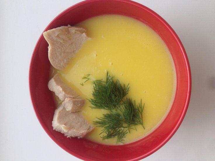 Суп-пюре с шафраном - Andy Chef - блог о еде и путешествиях, пошаговые рецепты, интернет-магазин для кондитеров