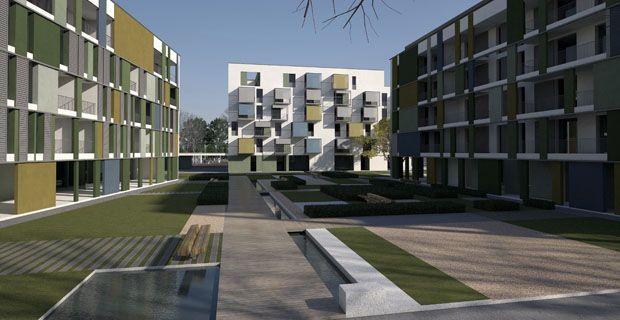 Risultati immagini per social housing progetti
