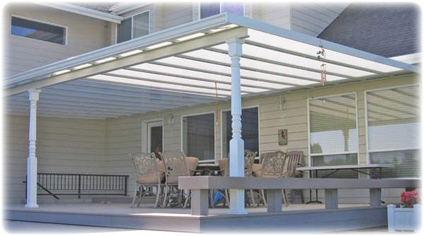 Roof Design Ideas: Glass-patio-awning-roof-designs