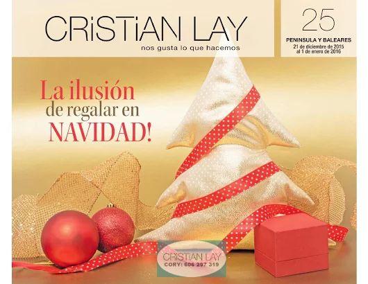 Campaña 25 cristian lay peninsula #ofertasnavidad2015