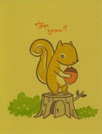 I love squirrels