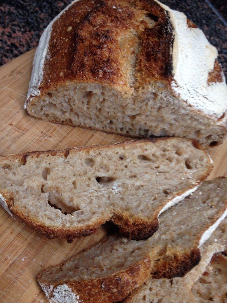 #Raimugido wheat sourdough for breakfast. #naturallyleavened #realbread