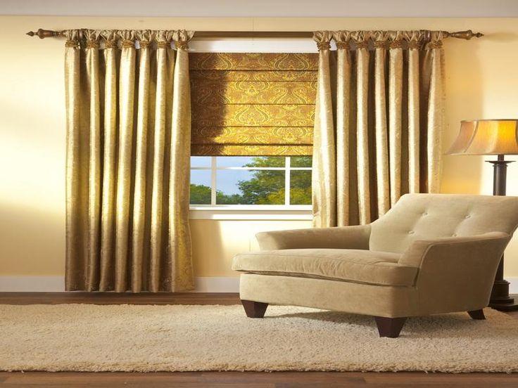 golden extra long curtain rods