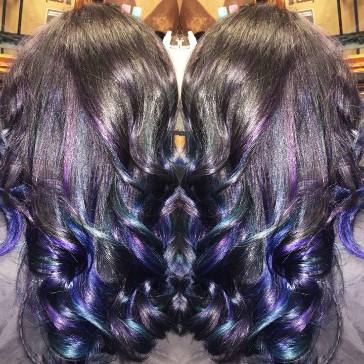 Oil Spill Hair With Pravana Vivids What I Call Work