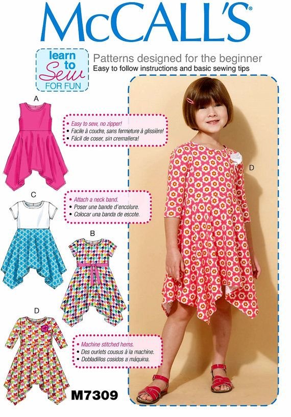 Dorable Learn To Sew Patterns For Kids Component - Knitting Pattern ...