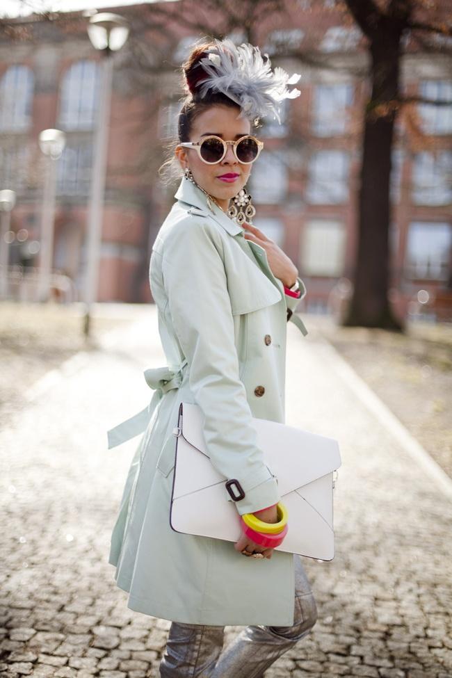 Such an inspiring Polish fashion blogger!