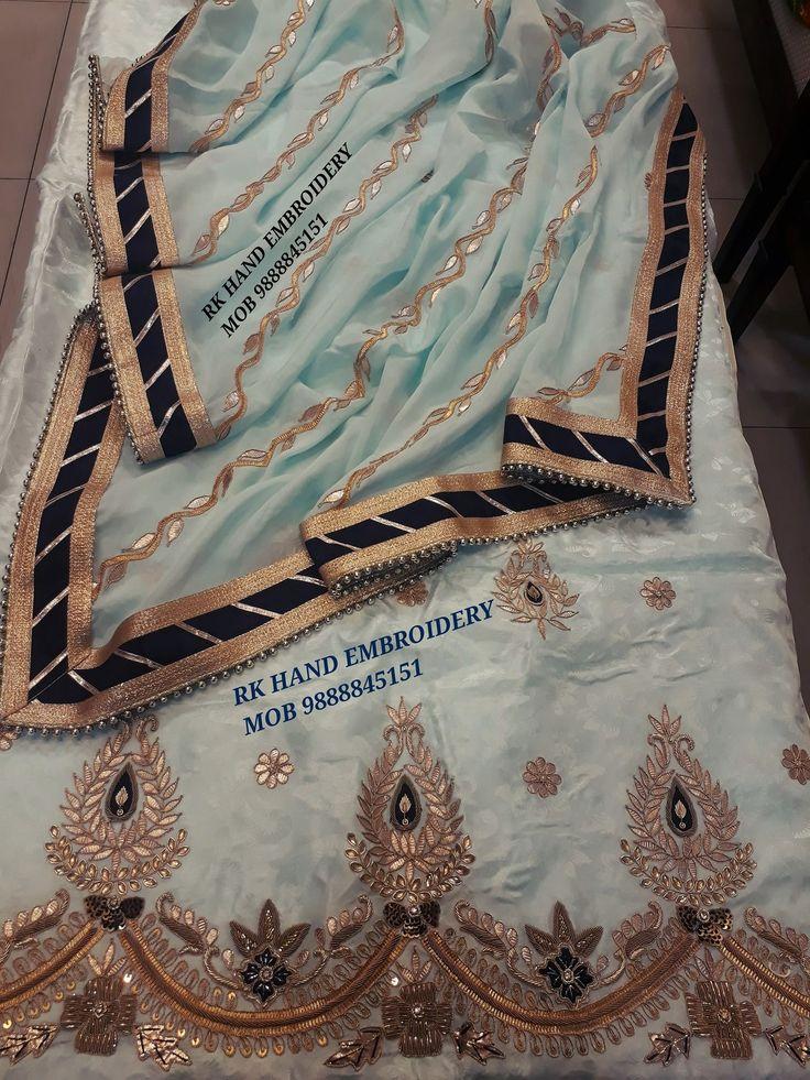 On silk fabric