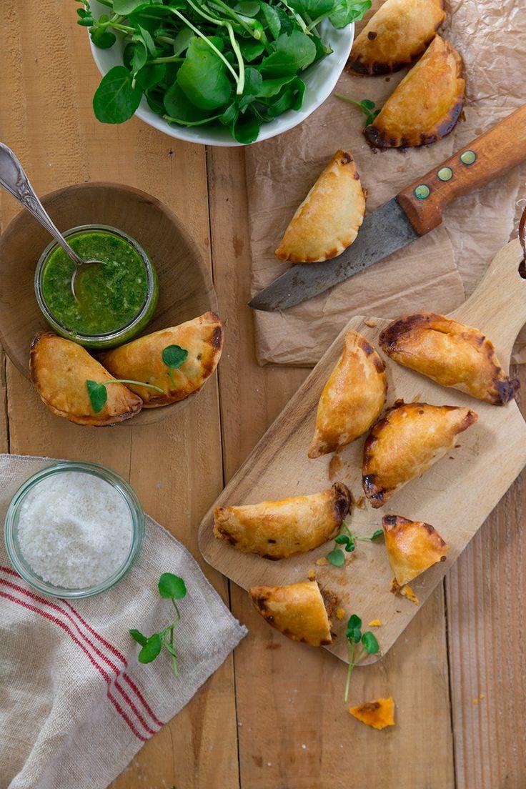 Des empanadas garnis d'une farce de bœuf épicé et de chorizo et c'est toute l'Espagne qui s'invite dans votre assiette.