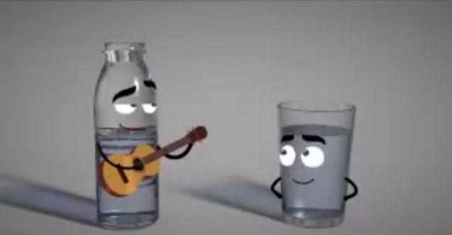 Esta canción te enseña lo saludable que es beber 8 vasos de agua al día - http://dominiomundial.com/esta-cancion-te-ensena-lo-saludable-que-es-beber-8-vasos-de-agua-al-dia/
