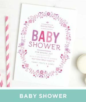 Super cute baby shower Invitation ideas. by Eric Mortensen