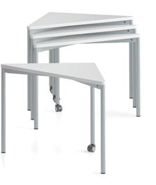 Triangular Class Room Table, TriTable By VS Educational Furniture
