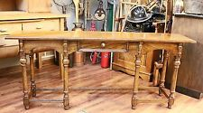 Antique Sofa Console Library Table with Drawer by Drexel Heritage Furnishings