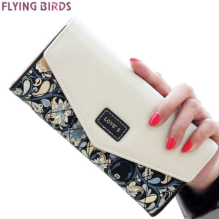 FLYING BIRDS wallet for women wallets brands purse dollar price printing designer purses card holder coin bag female LM4163fb //Price: $8.99 & FREE Shipping //     #Clothing