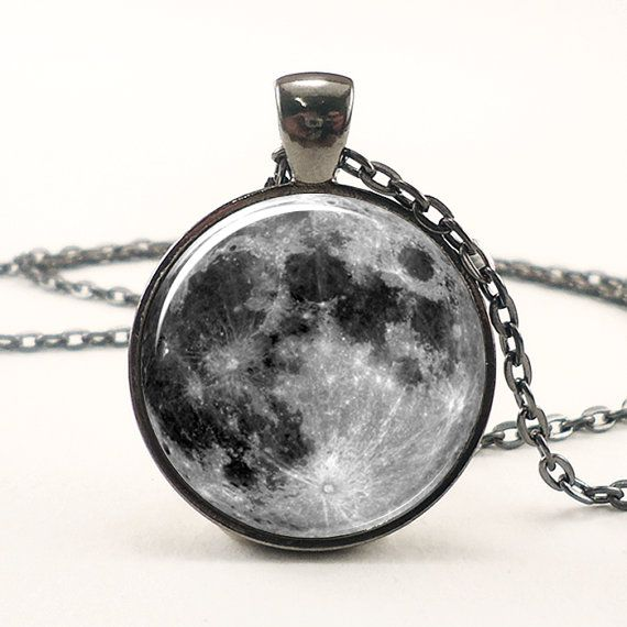 Full Moon Necklace In Gunmetal Black  but eeeh i don't wear necklaces, maybe earrings?