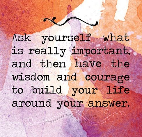 Ask yourself what you want to do today, what you want to do for the rest of your life, want you want to have as a career, or anything other than important questions. Choose which one you want to have your life go around 1answer and you will find yourself.