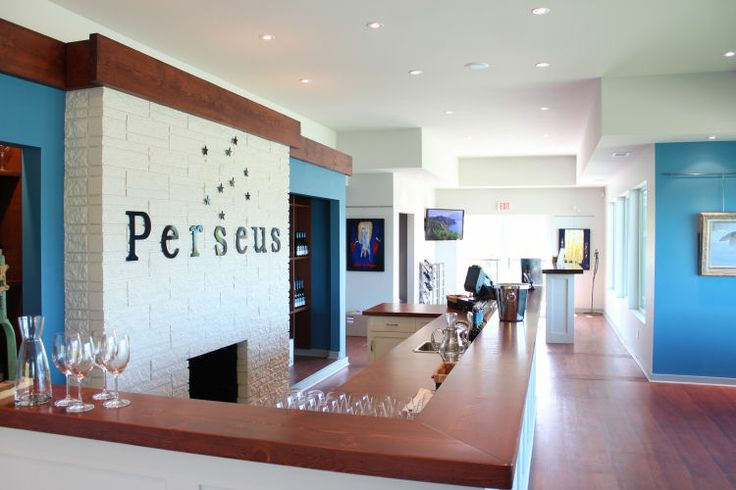 Perseus Winery Tasting Bar at www.girouxdesigngroup.com