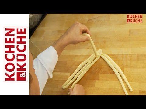 6er Zopf / Striezel flechten Slow Motion - YouTube