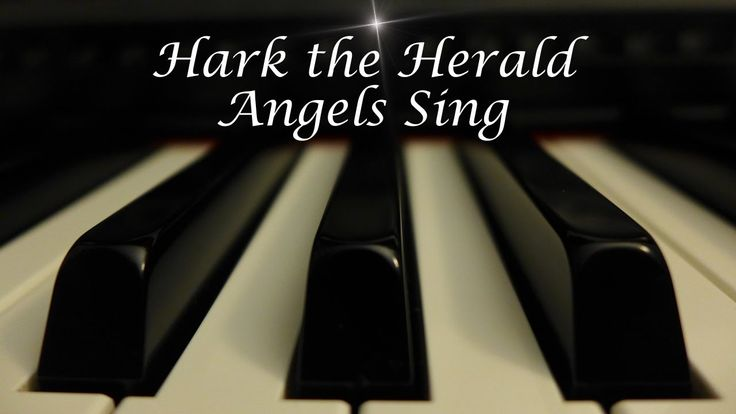 Hark the Herald Angels Sing - Christmas Hymn on Piano