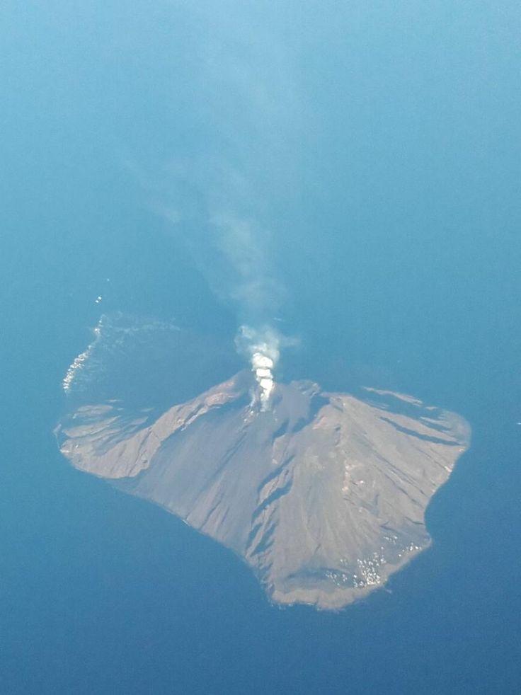 Vulkan, Insel Stromboli, Äolische Inseln, Italien