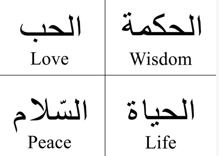 Arabic Tattoo Designs And Meanings arabic-to-english-wisdom-love-life ...