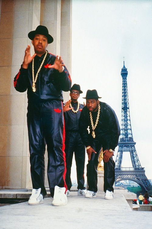Run DMC in Paris | Ricky Powell