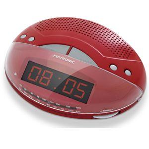 radio réveil avec grand afficheur - metronic