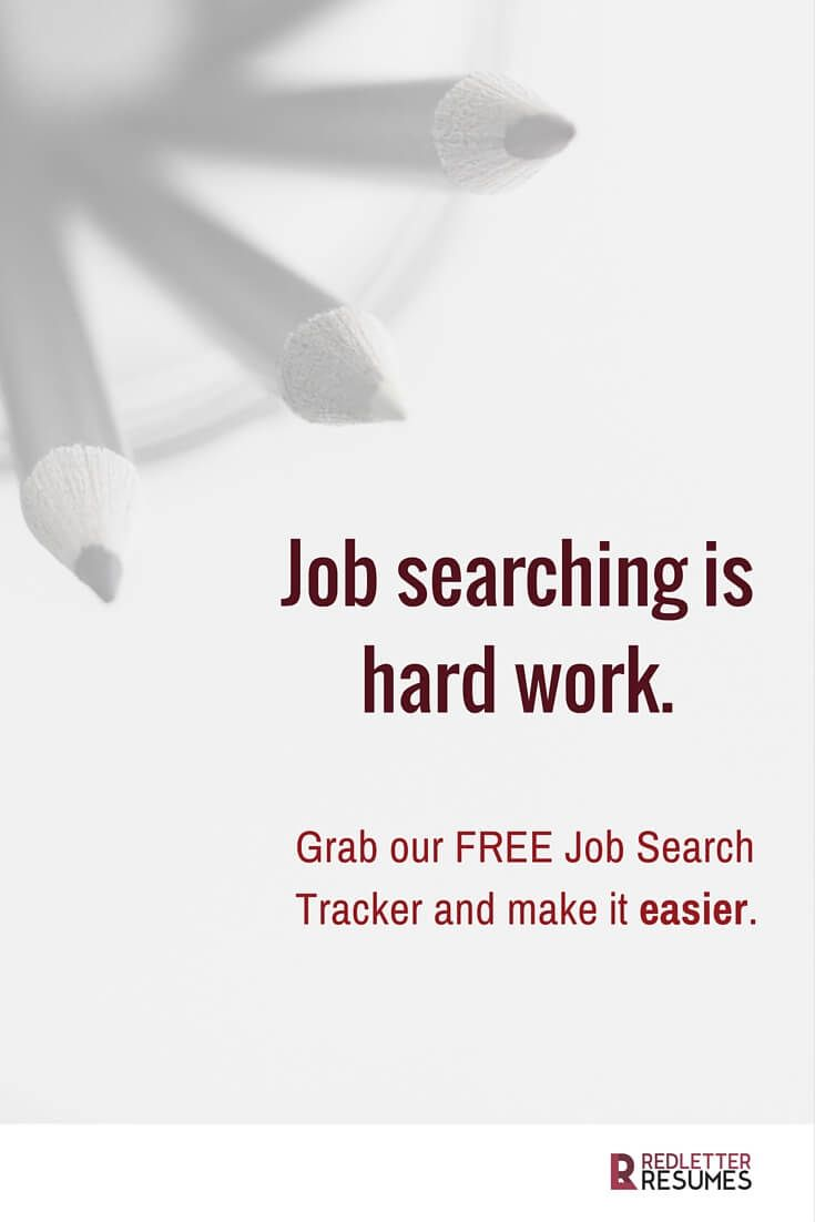 images about red letter resumes blog keep your job search organized and streamlined our job search tracker worksheet for