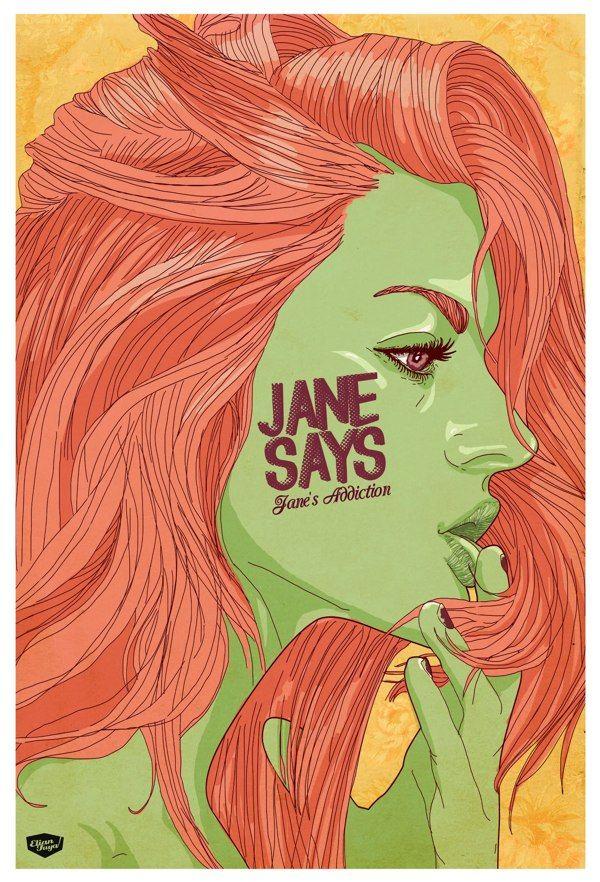 Jane says (Jane´s Addiction) On sale