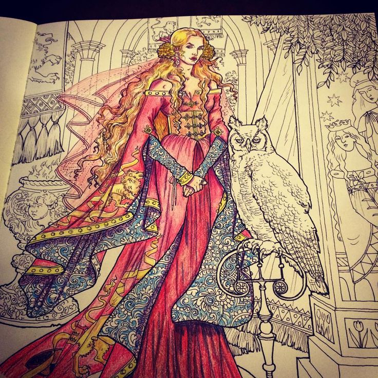 72 The Unofficial Game Of Thrones Coloring Book For